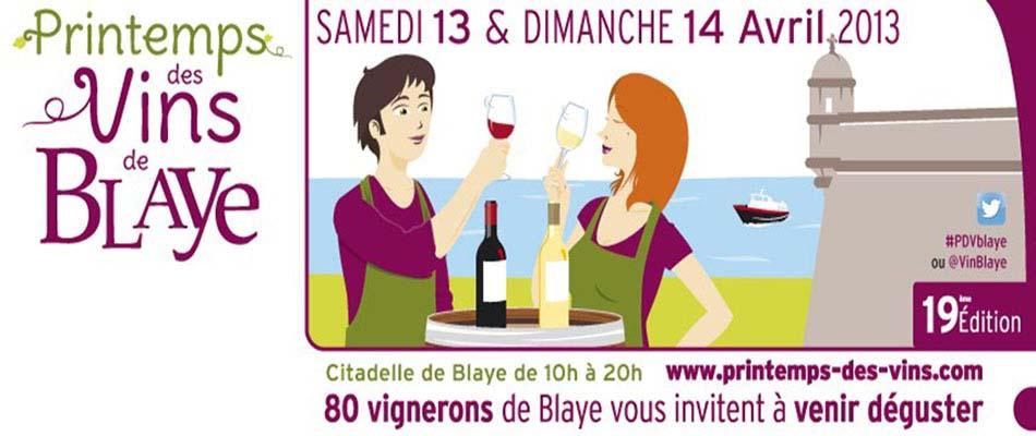 Printemps des vins de Blaye