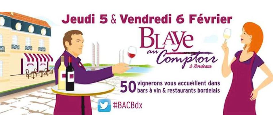 Blaye au comptoir Bordeaux