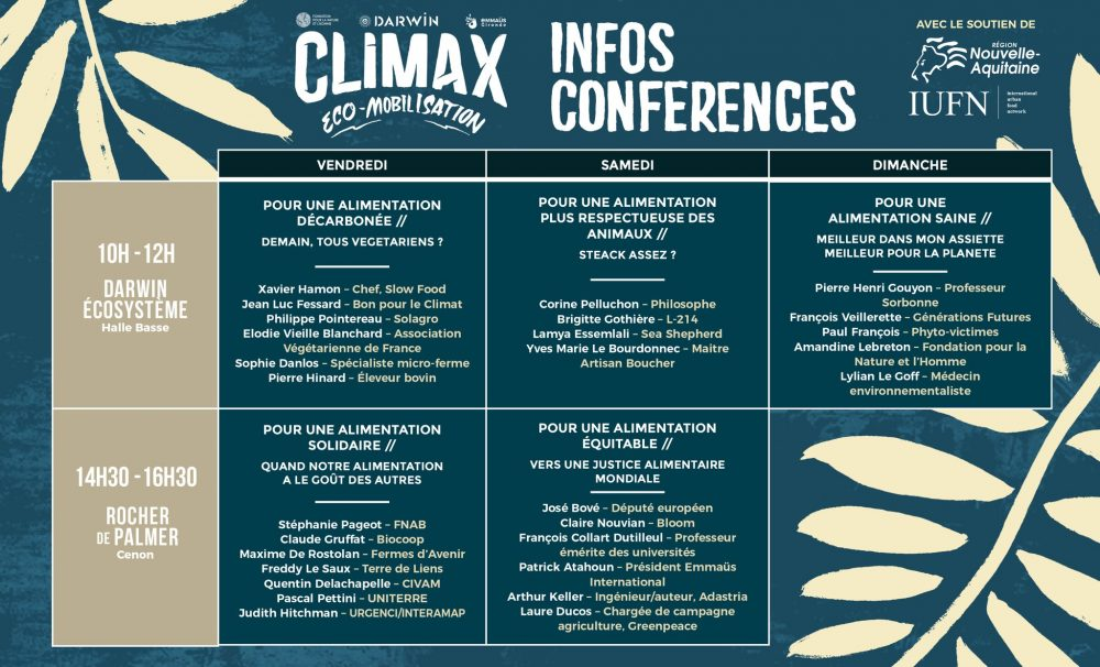 conferences Darwin Climax